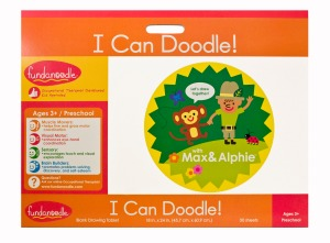 Fundanoodle by Carolina Pad I Can Doodle Floor Pad