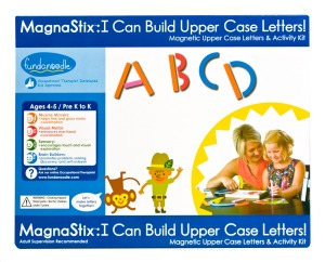 Fundanoodle I Can Build Uppercase Letters Activity Kit