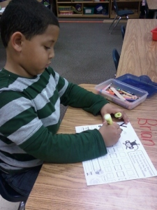Students Fundanoodle I Can Write Uppercase letters