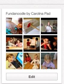 Pinterest board for Fundanoodle by Carolina Pad
