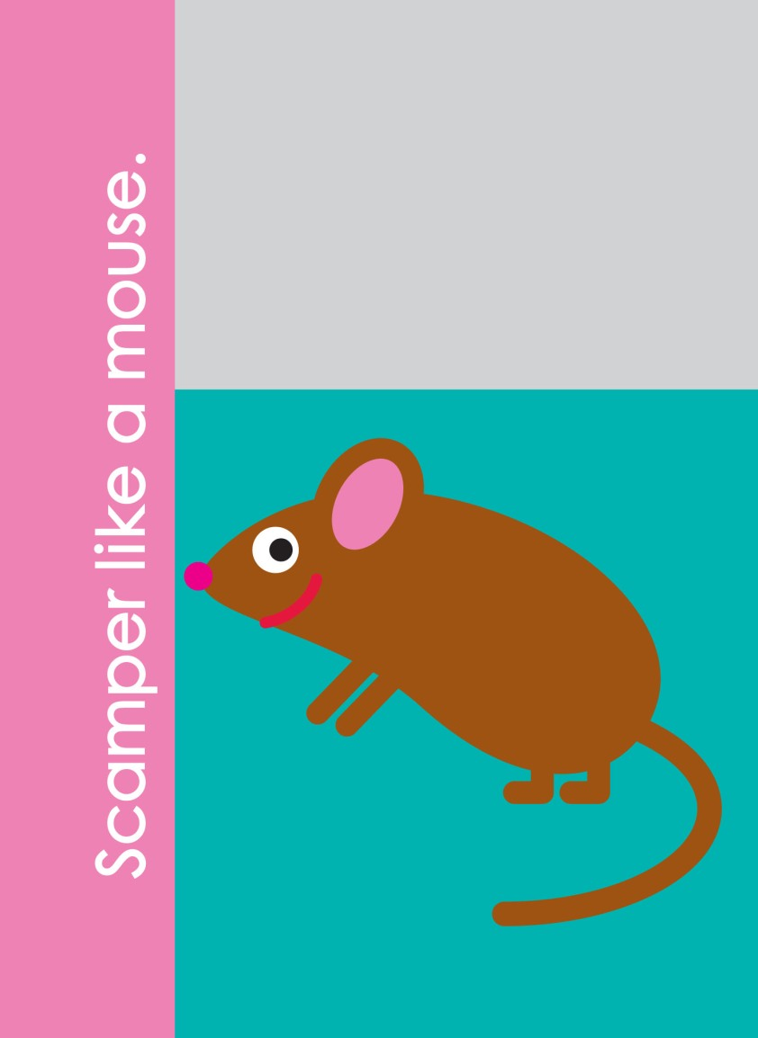 Scamper like a mouse - Fundanoodle by Carolina Pad