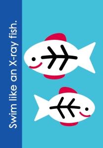 Fundanoodle by Carolina Pad muscle mover Swim like an X-ray fish.