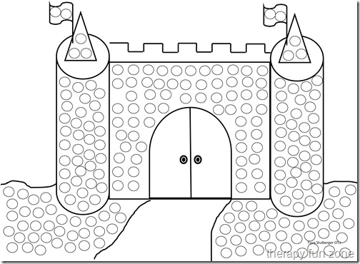 q tip coloring pages - photo #4