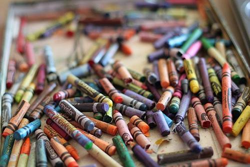 short crayons